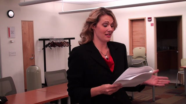 Sandra Puente Audition