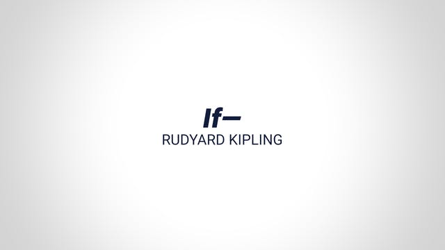If— - Rudyard Kipling