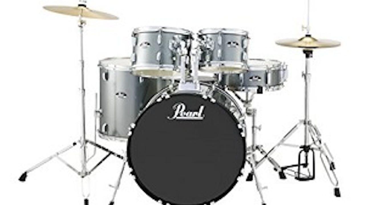 Drums, Lesson 1 - Technique And Knowing Your Drum Set