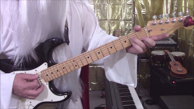Intermediate Guitar, Lesson 2 - A Position Bar Chords (60 Chords)