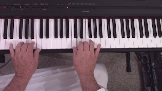 Piano, Lesson 1 - Mental and Physical...