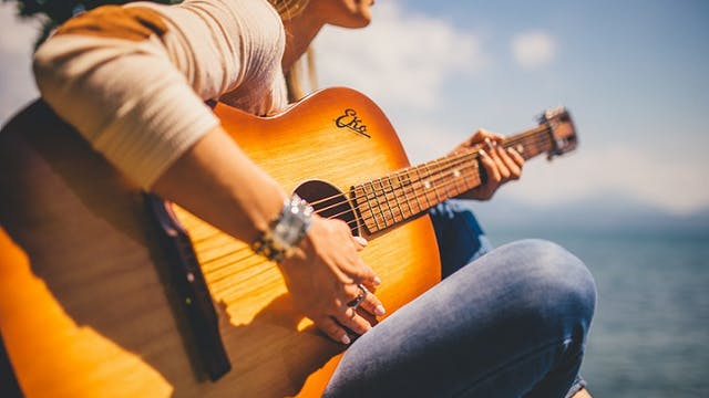 Beginner Guitar (first 4 lessons) - Techniques, skills and understanding for: Finger Picking, Strumming and Rhythm, Using a Pick; Playing Notes Properly (COMMAND AND CONTROL)