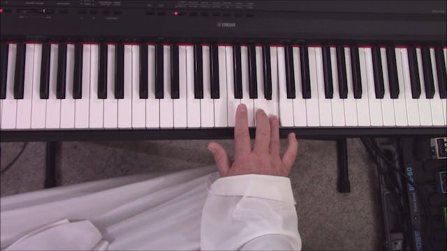 Piano, Lesson 3 - Musical Intervals