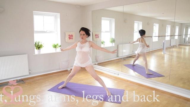 Yoga 'Burn' advanced: Cleanse