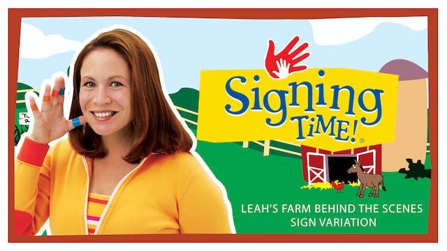 Leah's Farm - Sign Variation