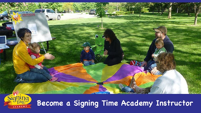 Signing Time Academy - Become an Instructor