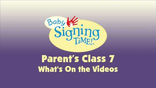 Parent's Class 7 What's On the Videos