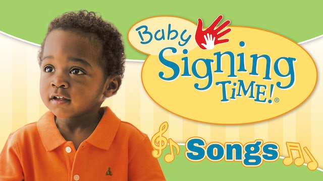 Baby Signing Time Here I Go Songs