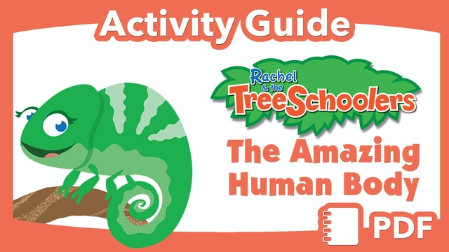 TreeSchoolers: The Amazing Human Body PDF Activity Guide