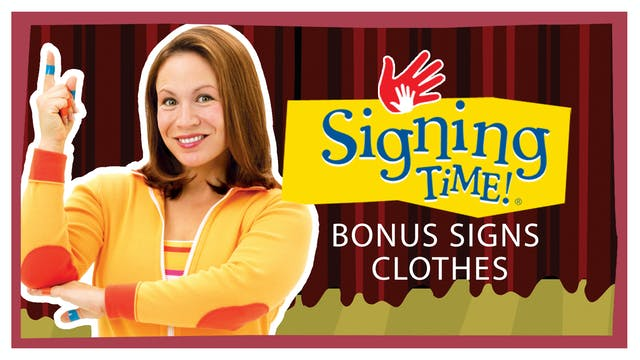 Bonus Signs Clothes