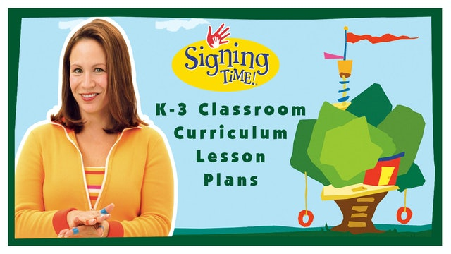Teacher's K-3 Classroom Curriculum Printable Lessons
