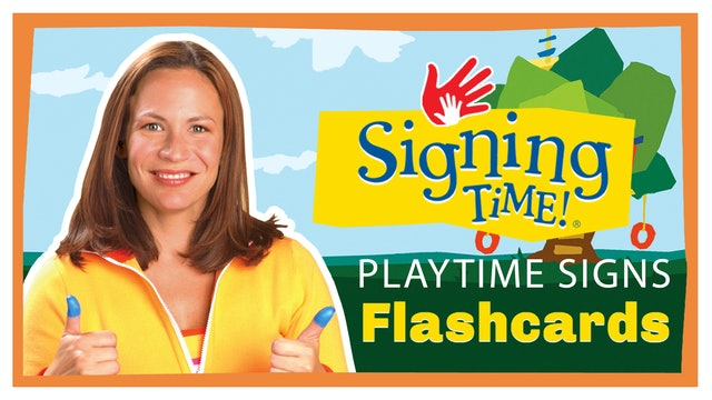 Playtime Signs Flashcards