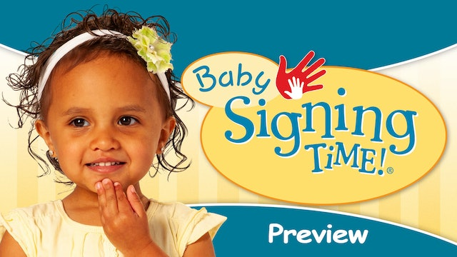 Baby Signing Time Preview