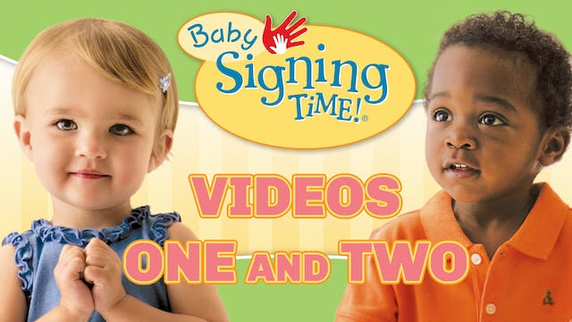 Baby Signing Time Vol. 1 & 2