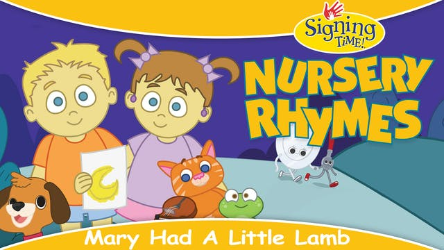Nursery Rhymes - Mary Had a Little Lamb