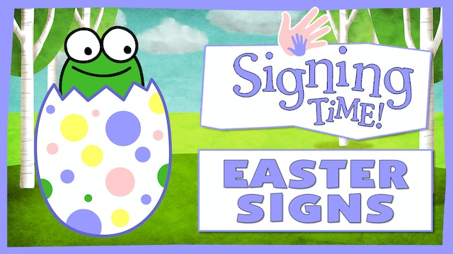 Easter and Springtime Signs