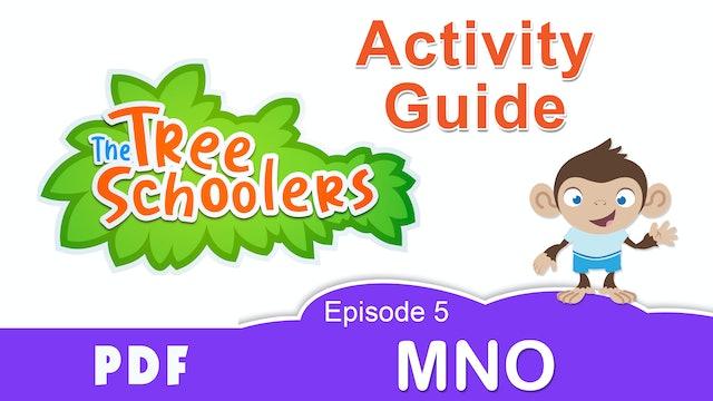 TreeSchoolers Phonetica MNO Activity Guide PDF