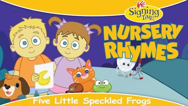 Nursery Rhymes - Five Little Speckled...