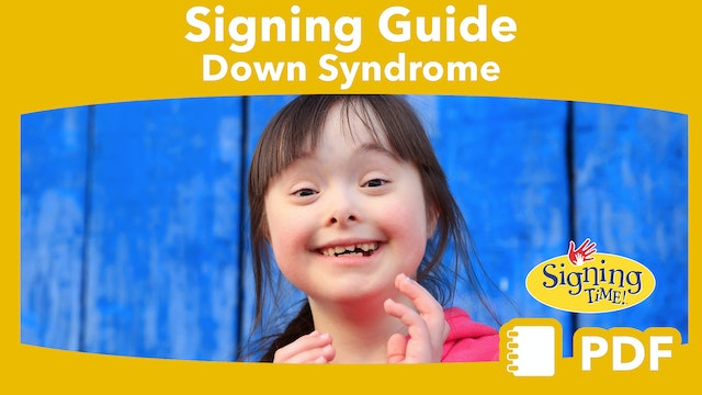 Signing with Children with Down Syndrome