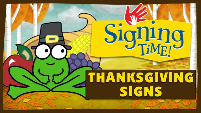 How to Sign Thanksgiving Day Words with Rachel