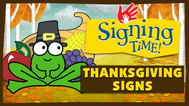 How to Sign Thanksgiving Day Words wi...