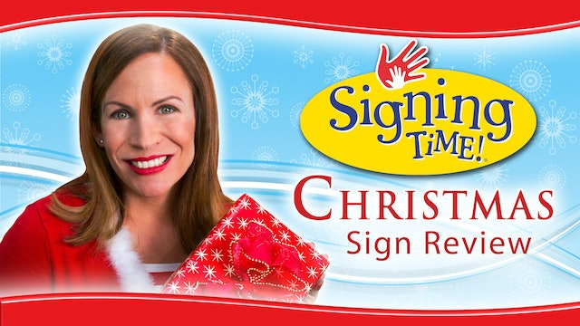 Signing Time Christmas Sign Review