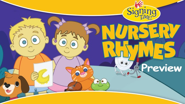 Signing Time Nursery Rhymes Preview