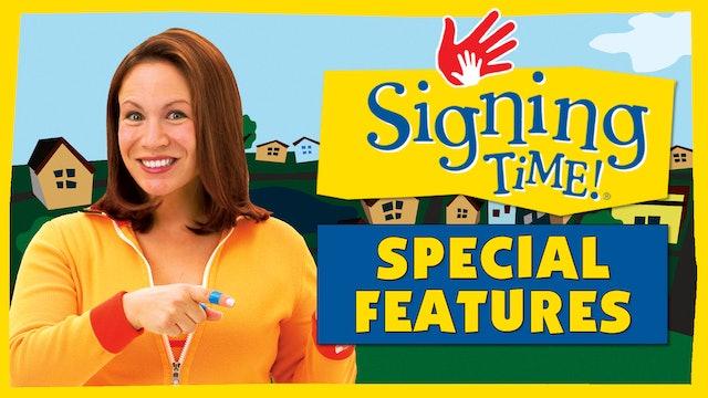 My Neighborhood - Bonus: Safety Signs (Signing Time Series 1 Episode 11, My Neighborhood)