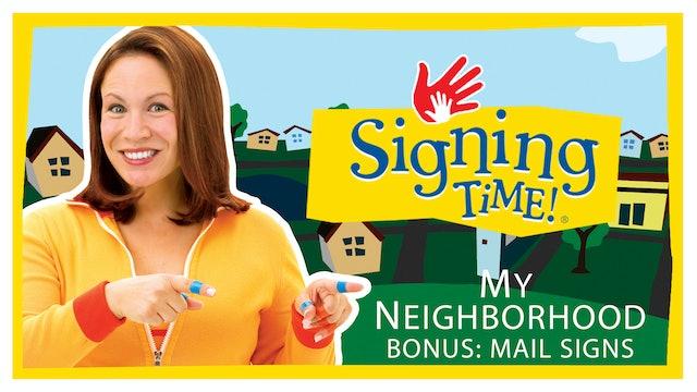 My Neighborhood - Bonus: Mail Signs