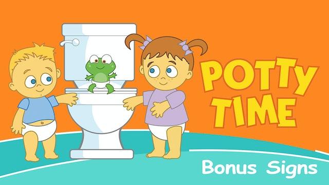 Potty Time: Bonus Signs