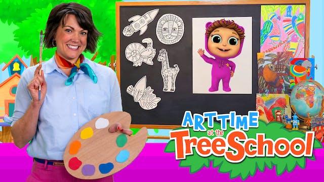 Art Time at the TreeSchool | Baby Joy...