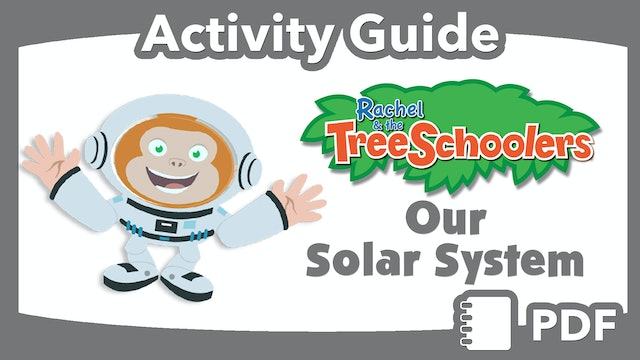 TreeSchoolers: Our Solar System PDF Activity Guide