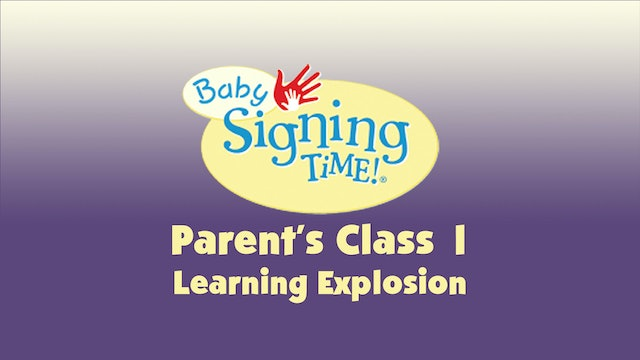 Parent's Class 1 Learning Explosion