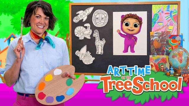 Art Time at the TreeSchool | Baby Joy Joy