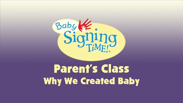 Parent's Class 10 Why We Created Baby