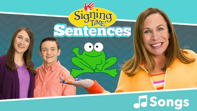 Signing Time Sentences - Selected Songs