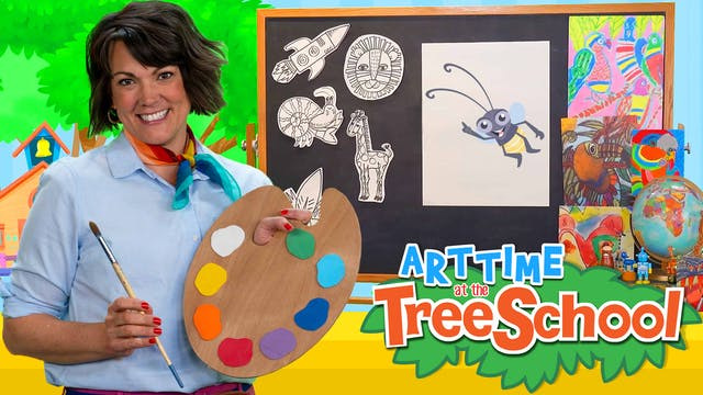 Art Time at the TreeSchool | Firefly Hue