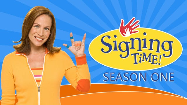 Signing Time Classic Season One Video Collection