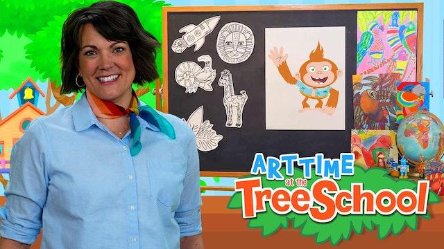 Art Time at the TreeSchool | Bongo