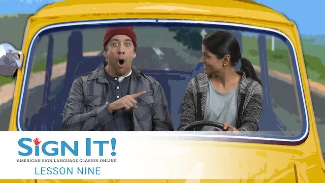 Sign It ASL Video Lesson 9: Transportation