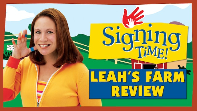 Signing Time Series One Episode 7 Sign Review