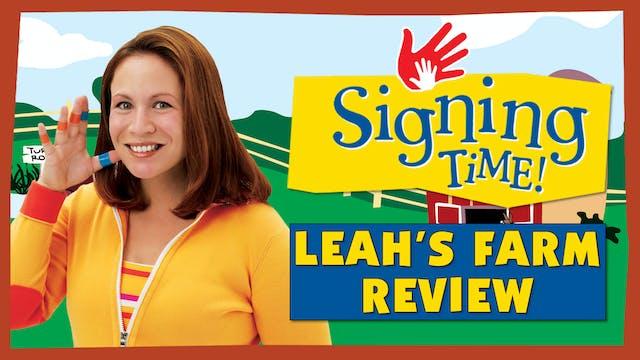 Leah's Farm | Sign Review