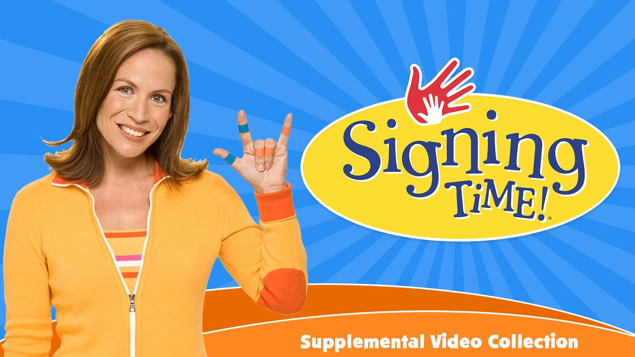 Signing Time Supplemental Video Collection
