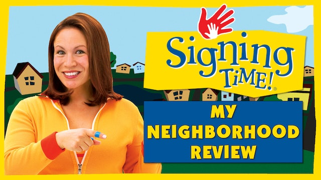 Signing Time Series One Episode 11 Sign Review