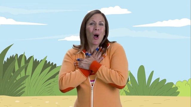 "Nursery Rhymes Rachel Demonstrates the Bridge of ""Five Little Ducks"""
