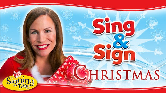 Signing Time Christmas Sing & Sign
