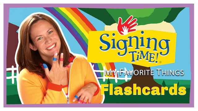 My Favorite Things Flashcards