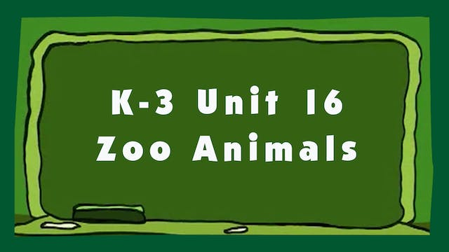 Unit 16 – Zoo Animals - Signing Time ...