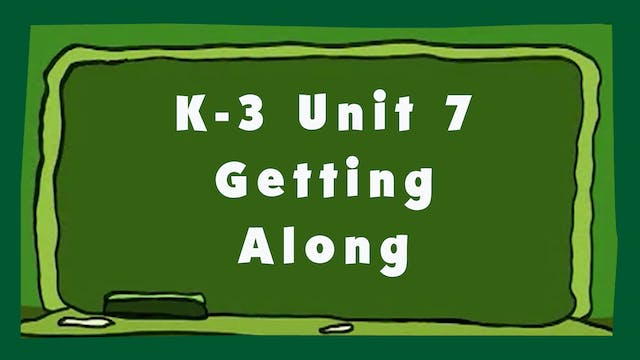 Unit 7 – Getting Along - Signing Time...