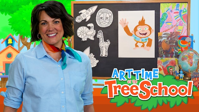 Art Time at the TreeSchool | Bongo